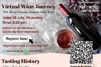 Virtual Wine Journey 29 Jul 21